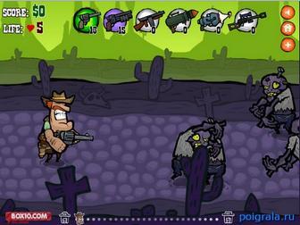 Картинка к игре Дикий запад зомби